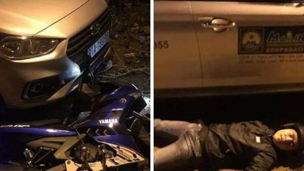 Dàn dựng tai nạn giao thông để chụp ảnh 'câu like', nam thanh niên bị công an triệu tập