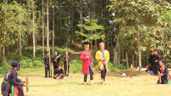 Bảo tồn điệu múa cổ của dân tộc Sán Chay ở Thái Nguyên