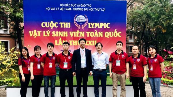 Thái Nguyên: Sinh viên Trường Đại học Sư phạm đạt giải Nhất Cuộc thi Olympic Vật lý sinh viên toàn quốc lần thứ XXII