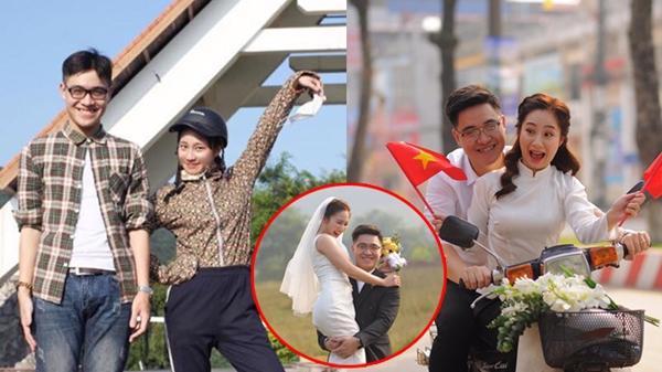 Chuyện tình 7 năm và cái kết viên mãn của cặp đôi có bộ ảnh cưới 'cười không nhặt được mồm' gây bão mạng