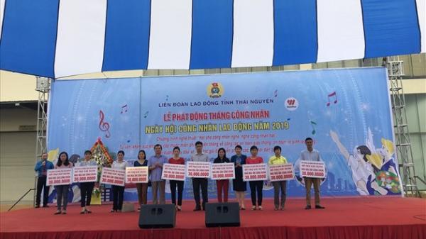 Thái Nguyên: Tưng bừng ngày hội công nhân với hơn 3.000 người tham dự