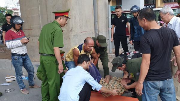 Thanh niên quê Thái Nguyên đi xe máy tông chị ve chai nhập viện cấp cứu