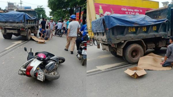 Vụ người phụ nữ bị xe tải cán tử vong ở Thái Nguyên: Dân mạng tung clip bóc nguyên nhân