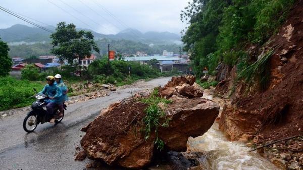 Bắc Kạn: CẢNH BÁO mưa to, nguy cơ lũ quét, sạt lở đất ở vùng núi