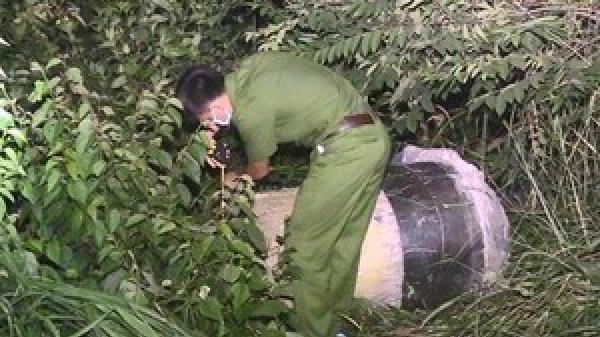 Truy tìm phụ nữ tên Thanh trong vụ hai x.ác người trong bồn nhựa đổ bê tông