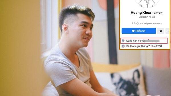 Chàng trai Hải Phòng PewPew thông báo 'đang hẹn hò', để hẳn relationship cùng một cô gái lạ trên Facebook!