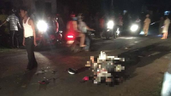 2 thanh niên t.ử vo.ng tại chỗ khi tông vào xe máy kéo không biển số