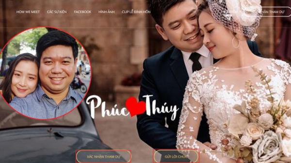 Cặp đôi mời cưới thời 4.0: Làm hẳn website để khách mời xác nhận đi hay không, có cả số tài khoản để chuyển tiền cho tiện