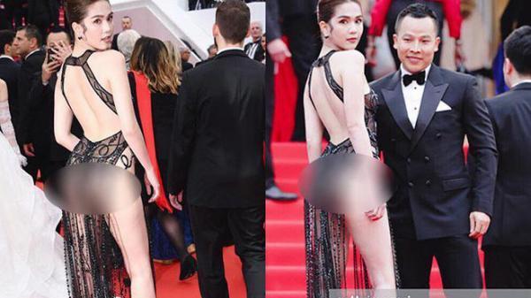Ngọc Trinh bất ngờ lên tiếng khi bị ch.ỉ trí.ch trên thảm đỏ Cannes: 'Tôi là nữ hoàng n.ội y, m.ặc vậy là bình thường'