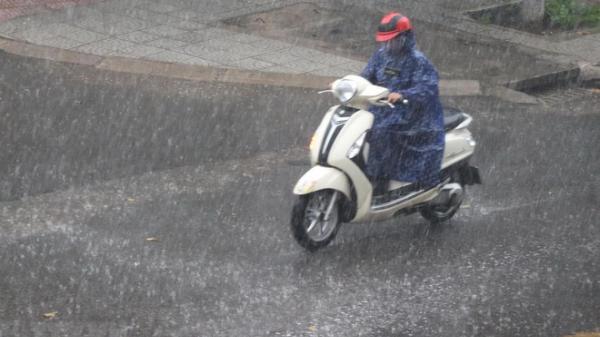 Miền Bắc mưa to nhiều nơi, nhiệt độ cao nhất 31 độ C