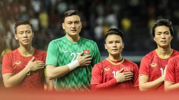 """Cầu thủ ăn mừng sau chiến thắng trước ĐT Thái Lan - Đặng Văn Lâm: """"Gần nửa năm ở Thái mà bây giờ mới được cười thật tươi"""""""