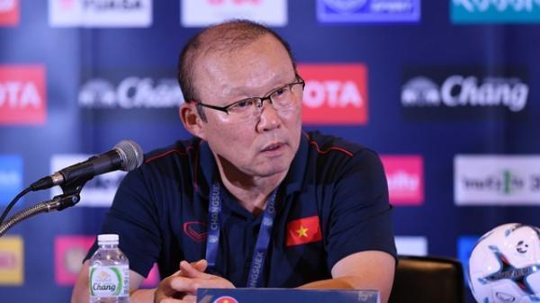 """HLV Park Hang Seo nói điều bất ngờ trước trận chung kết King's Cup 2019: """"Việt Nam đã thắng trận chung kết với Thái Lan"""""""