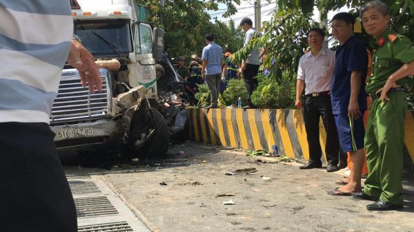 Tạm giữ tài xế container gây tai nạn khiến 5 người tử vong
