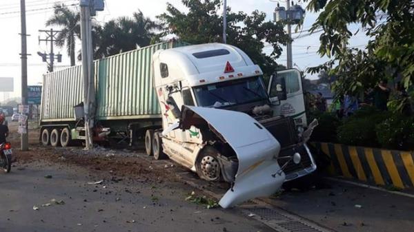 Lời khai của tài xế container tông xe ô tô khiến 5 người tử vong