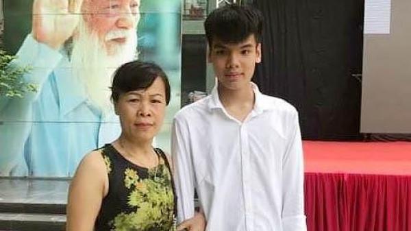 Con trai nữ lao công bị xe đâm tử vong đỗ lớp 10 trường Lương Thế Vinh