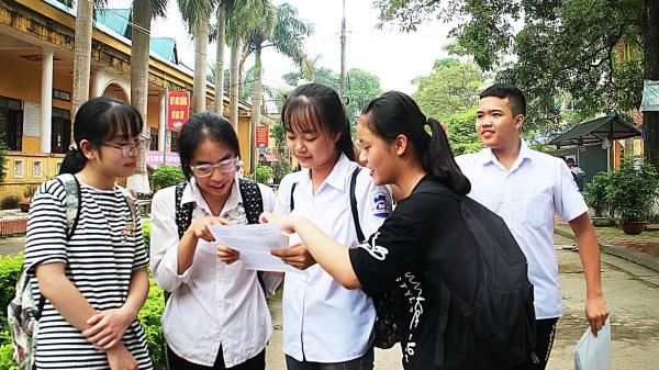 Thái Nguyên: Công bố kết quả chấm thi tuyển vào lớp 10 các trường THPT công lập