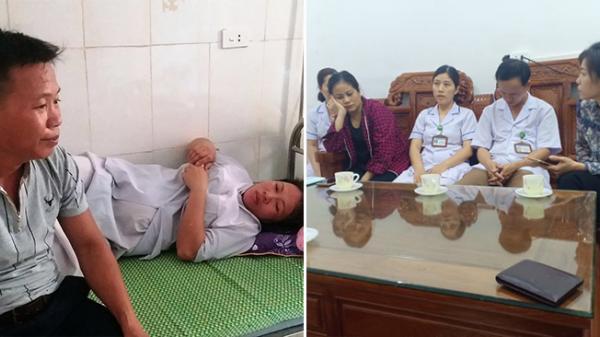 Vụ trẻ sơ sinh bị bác sĩ sản làm đứt cổ: Bác sĩ trưởng khoa sản ở Hà Tĩnh lên tiếng