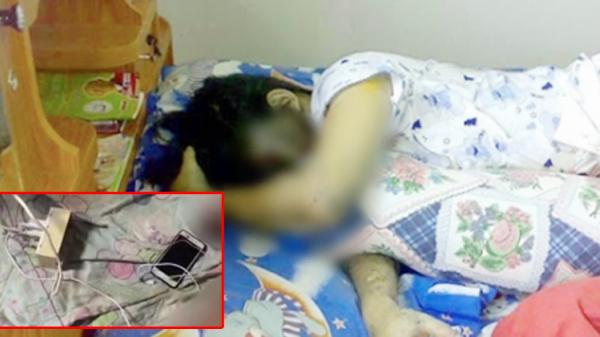 Thanh niên 21 tuổi bị điện giật tử vong do nằm ngủ cạnh điện thoại đang cắm sạc