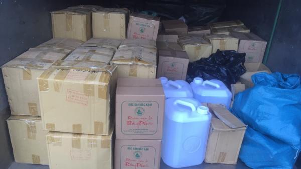 Bắc Kạn: Thu giữ gần 1.000 lít rư.ợu thủ công