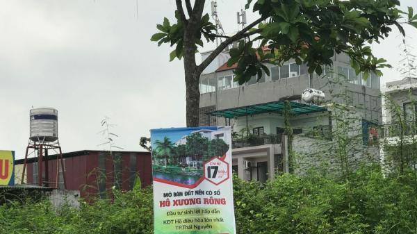 Thái Nguyên: Cảnh báo 'sập bẫy' lừa đảo khi mua đất tại Dự án Khu đô thị Hồ Xương Rồng