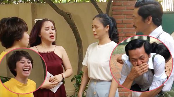'Về nhà đi con': Bật khóc kể lại nguyên nhân lấy chồng lần 5, cô Xuyến khiến 3 bố con ông Sơn cười không ngậm được mồm!