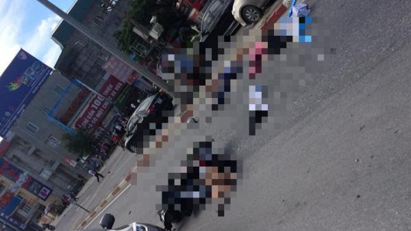 Xe khách đâ.m hàng loạt xe máy khiến ít nhất 5 người bị thươ.ng