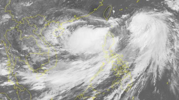 Xuất hiện vùng áp thấp trên Biển Đông, có khả năng mạnh lên thành bão