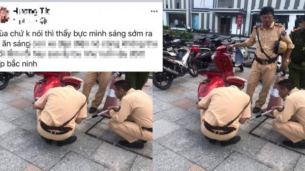Bắc Ninh: Xử lý đối tượng đăng thông tin xúc phạm danh dự, uy tín của lực lượng CSGT đang làm nhiệm vụ trên Facebook