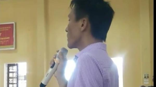 """Thái Nguyên: Phụ huynh chất vấn hiệu trưởng chuyện học sinh phải """"nín"""" đi vệ sinh ở trường"""