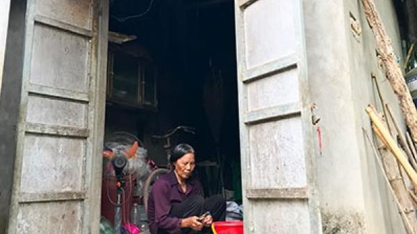 Thái Nguyên: Người phụ nữ nghèo sống trong căn bếp chật hẹp chỉ 7m2