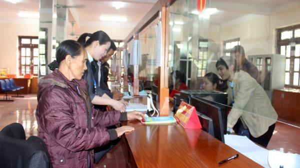 """Võ Nhai (Thái Nguyên): 231 thủ tục hành chính được giải quyết thông qua Bộ phận """"một cửa"""""""