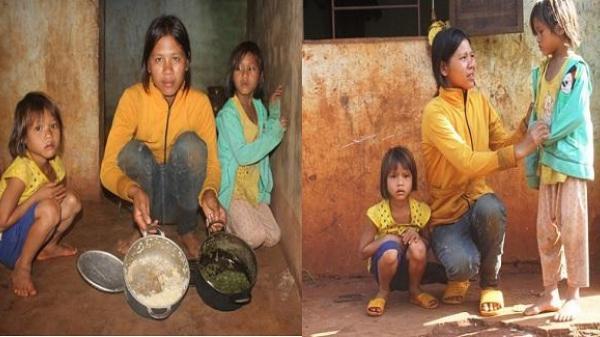 Đói cơm khát chữ, ba chị em mồ côi cha mẹ nuốt nước mắt sống lay lắt qua ngày