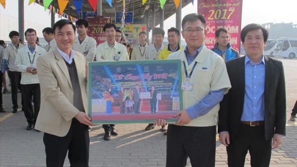 Thái Nguyên: Thiết thực chăm lo đời sống công nhân ở khu công nghiệp