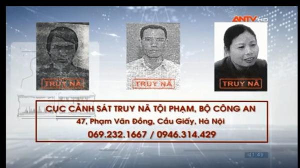NÓNG: LỆNH TRUY NÃ các đối tượng phạm tội với các tội danh khác nhau ở Thái Nguyên