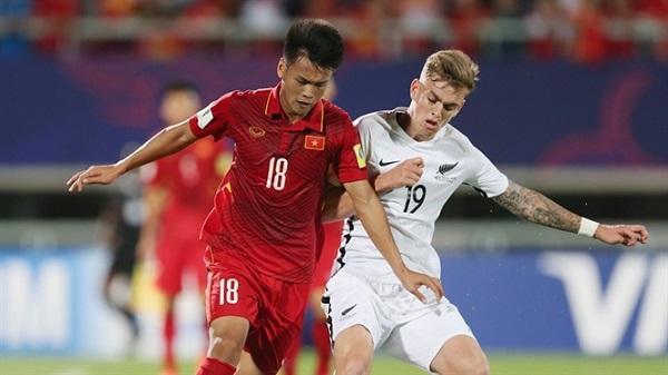 U20 Việt Nam có điểm số đầu tiên tại sân chơi World Cup