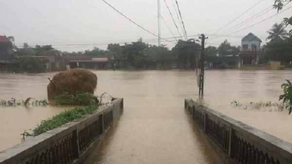 Thanh Hóa: Mưa lớn liên tục khiến nhiều xã miền núi bị cô lập
