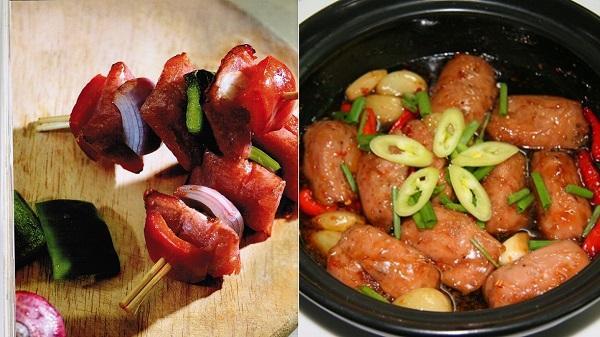 Những món ngon biến tấu từ đặc sản nem chua Thanh Hóa