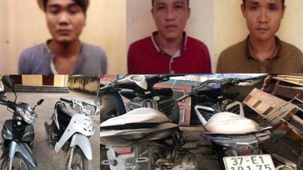 Thanh Hóa: Liên tiếp triệt phá các ổ nhóm trộm cắp xe máy liều lĩnh