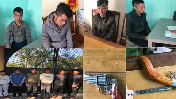 Thanh Hóa: 10 đối tượng hỗn chiến trước quán karaoke rồi nã súng vào Cảnh sát