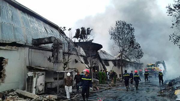 Thanh Hóa: Phát hiện thi thể công nhân trong vụ cháy xưởng bánh kẹo