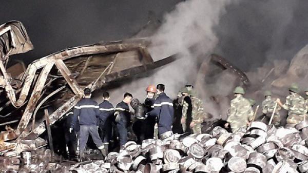 Thanh Hóa: Thi thể 2 nạn nhân trong vụ cháy Tràng An 3 không thể nhận dạng