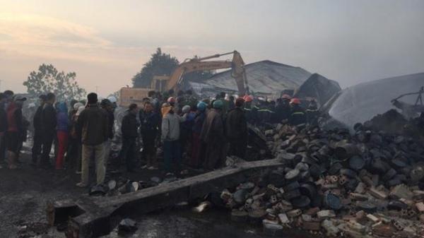 Thanh Hóa: Phát hiện thi thể cuối cùng trong vụ cháy nhà máy bánh kẹo Tràng An
