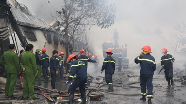 Hỗ trợ gia đình các nạn nhân vụ cháy công ty bánh kẹo ở Thanh Hóa