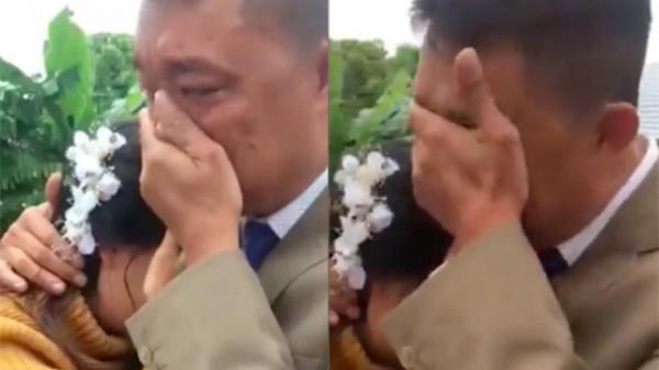 Cô dâu chia sẻ chuyện ôm bố khóc nức nở khi đi lấy chồng xa trong đám cưới ở Thanh Hóa