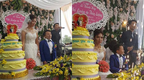 Vượt qua bao định kiến, đám cưới ở Thanh Hóa với cô dâu 1m65, chú rể 80cm khiến bao người ngưỡng mộ