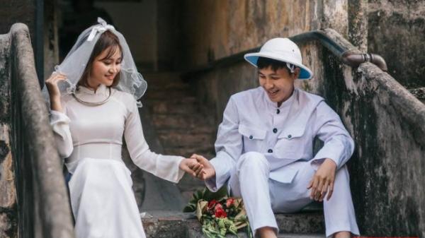 Trở lại thời bao cấp với ảnh cưới của cặp đôi ở Thanh Hóa quen nhau qua Facebook