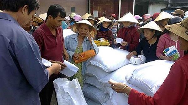 Xuất cấp hơn 300 tấn gạo cứu đói cho Thanh Hóa