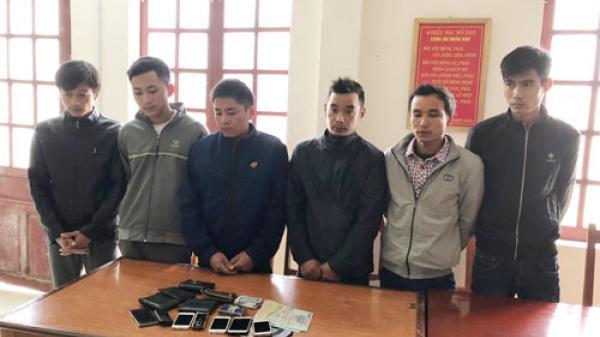 Thanh Hóa: Bắt quả tang 6 thanh niên chơi '3 cây' ăn tiền ở văn phòng công ty
