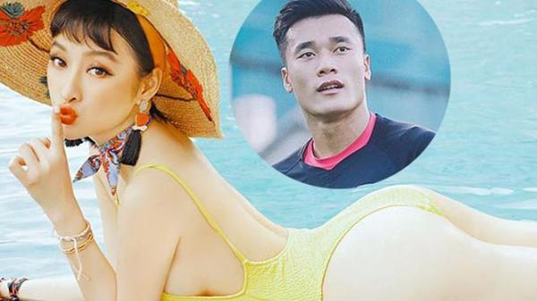 Angela Phương Trinh lại 'thả thính' thủ môn Tiến Dũng của U23 Việt Nam