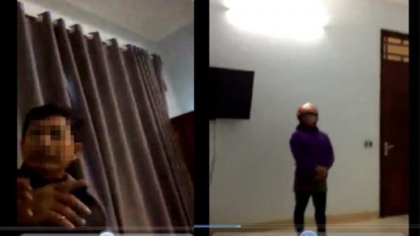 Thanh Hóa: Lộ clip nghi Chủ tịch xã vào nhà nghỉ với nữ cán bộ